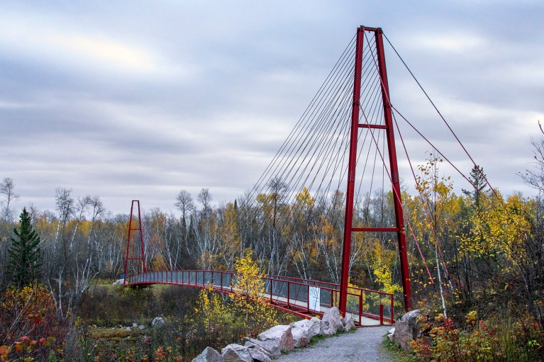 Bridge in Whiteshell Provincial Park, Manitoba Road Trip - 7 Days of Canadian Prairie Adventure :: I've Been Bit A Travel Blog