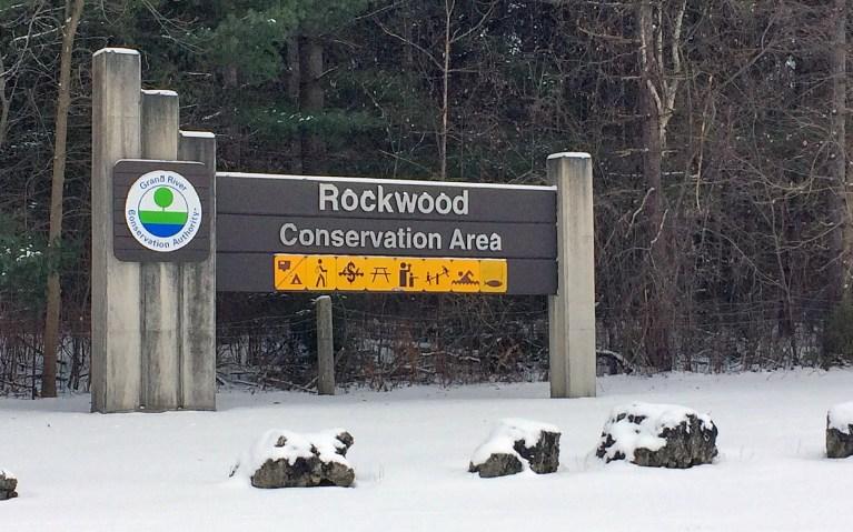 Entrance Sign to the Rockwood Conservation Area :: I've Been Bit! A Travel Blog