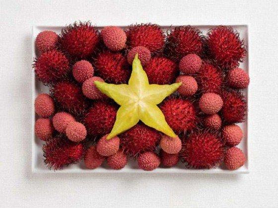 food flag 8