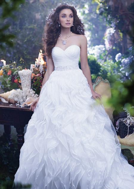 The Disney Princess inspired wedding dresses every little girl wants.