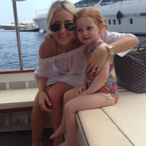 Roxy Jacenko with her daughter Pixie