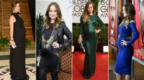 Maternity dressing tips from a movie star.