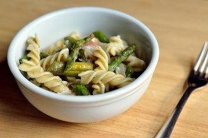 Pasta with Asparagus and Pancetta