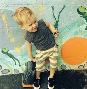 Hilary Duff's son Luca