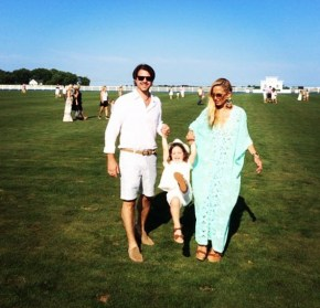 Rachel Zoe with her husband and their son Skyler