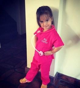 Mario Lopez's daughter, Gia