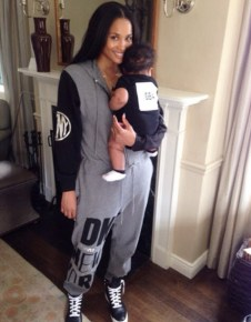 Ciara with her son Future