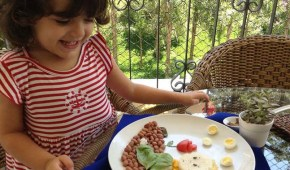What one mum did to get her daughter to eat.