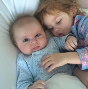 Roxy Jacenko's children Hunter and Pixie