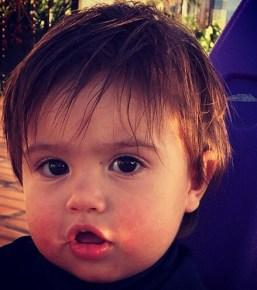 Mario Lopez's son Dominic