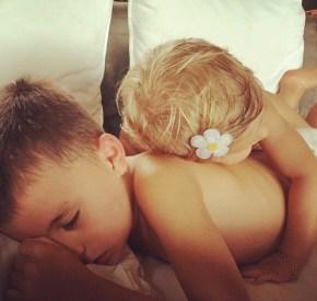 Gisele Bundchen's children Benjamin and Vivian