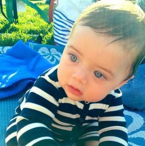 Rachel Zoe's son Kaius