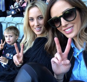 Bec Judd and hers son Oscar