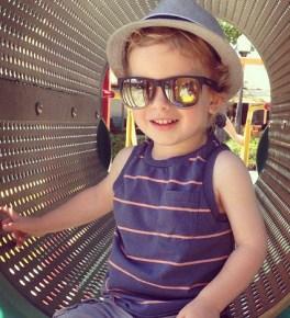Tori Spelling's son Finn