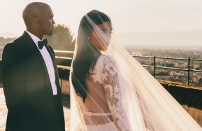"Kim Kardashian reveals her wedding night ""look"". Because, TMI."