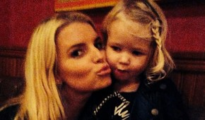 Jessica Simpson's daughter makes the most adorable flower girl.