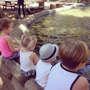 Tori Spelling's children Stella, Hattie, Finn and Liam