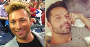 Ian Thorpe sets the rumours straight on romance with Ricky Martin.