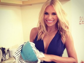 Sonia Kruger welcomes her first baby.