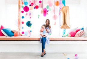 Rebecca Judd's daughter Billie celebrates her 1st birthday.