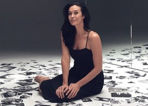 Megan Gale posted nude bump shots to Instagram. Then things got nasty.