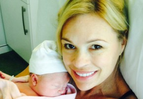 Sonia Kruger isn't even a tiny bit worried about her baby weight.