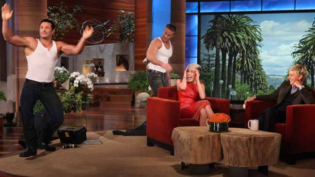 Which Celebrity was Treated to a Lap Dance on Ellen?
