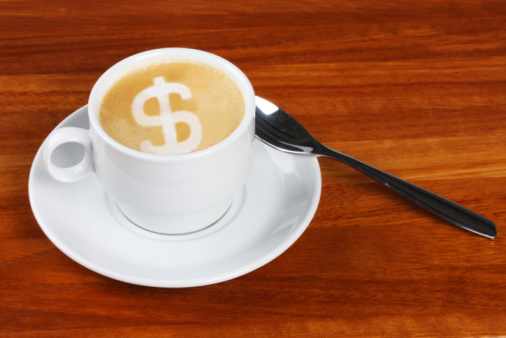 That second coffee could be costing you $70,000 a year