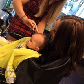 A birthday trim for little Sophia