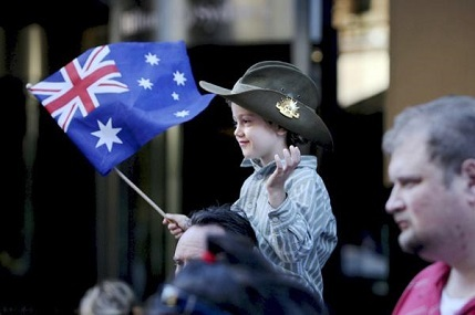 How shall I talk to my son about ANZAC Day?
