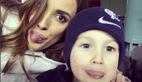 Bec Judd and her son22