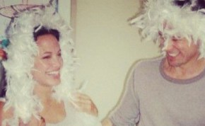 The first photos of Brad and Angelina's wedding.
