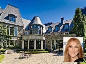 Take a stroll through Celine Dion's $26 mill Canadian mansion.