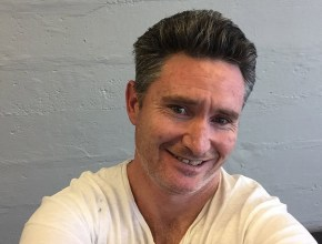 Dave Hughes is getting a very important snip.