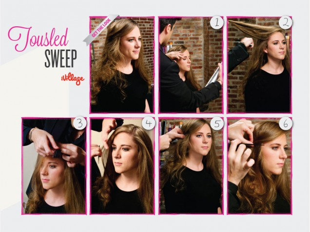 DIY Tousled Sweep