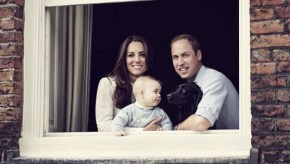 Prince George makes a rare public appearance. And, yes, he's still cute.