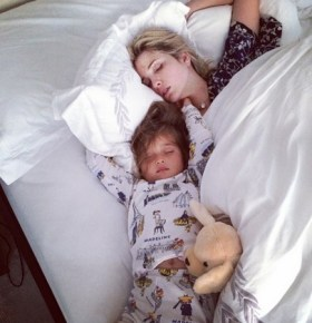Ivanka Trump and her daughter Arabella after having a big night celebrating her 3rd birthday