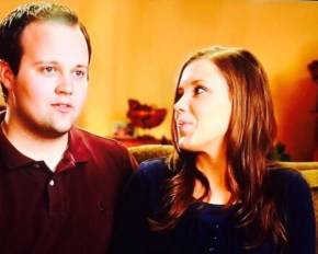 Josh Duggar's wife posts a cryptic message in support of her husband.