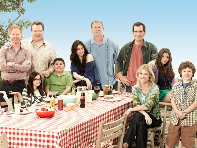 Sneak peek at Modern Family in Australia.