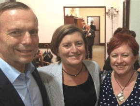 Coming out in your 40s… when you're Tony Abbott's sister.