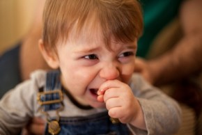 The 7 reasons why my child's crying in a cafe.