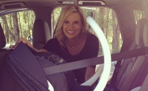 Sonia Kruger shares her first picture of her baby girl.