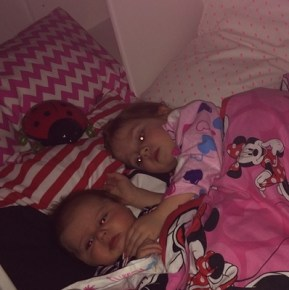 Roxy Jacenko's children before bed time
