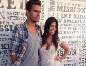 Baby news for Kourtney Kardashian.