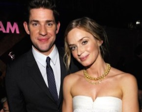 Actress Emily Blunt has discovered a new way to bring on labour.