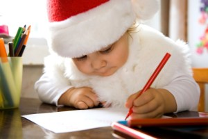 A 10-month-old's letter to Santa
