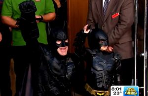 Your daily dose of cute: Batkid saves the day again