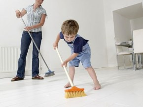 Age appropriate cleaning chores for toddlers to teens