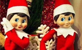 When Elf on the Shelf goes R-rated.