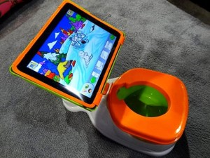 Join the iPotty debate: clever gadget or technology gone mad?